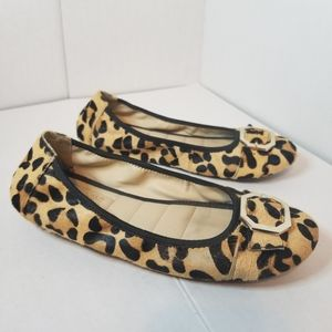 2 FOR 85 Adam Tucker Leapard Print Flats